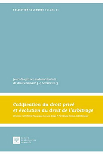 Codification du droit priv et volution du droit