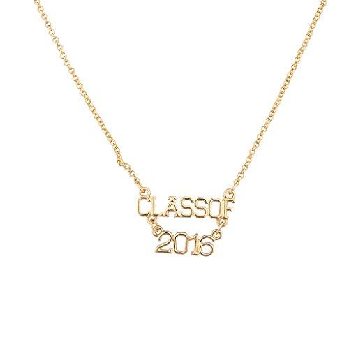 Lux accessori oro classe di 2016Collana
