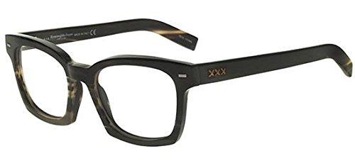 ermenegildo-zegna-couture-zc5015-geometriques-corne-homme-dark-brown-green-horn061-51-18-145
