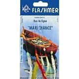 BAS DE LIGNE FLASHMER MAXI CHANCE - 5 HAMECONS