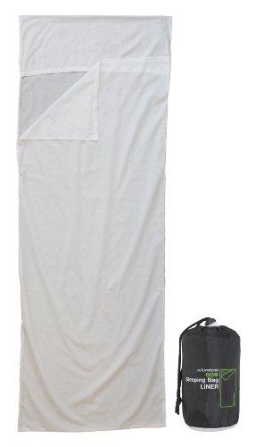 Yellowstone Envelope Sleeping Bag Liner - White