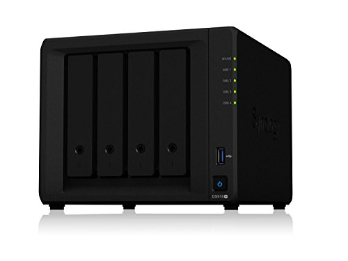 SYNOLOGY DS918+ 4-Bay NAS-case