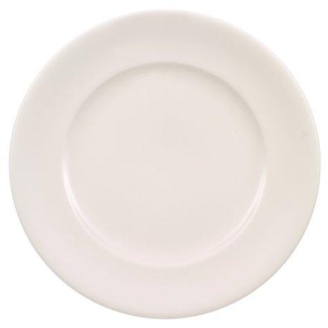 Villeroy and Boch Home Elements - Plato llano, 22 centímetros, color blanco