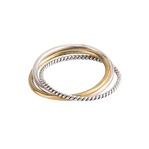 Generic 1pc stylischer Ring stylischer langlebiger modischer Trendsetter Ring stylischer Ring Damenring für Date Damen Damen