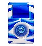 iSkin eVo2 Wild Sides for 4G iPod 40/60 GB, Rebel (blau)