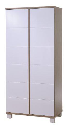 roba Kleiderschrank \'Genova\', 2 Türen, Kleiderstange, Kinderzimmer Schrank bicolor