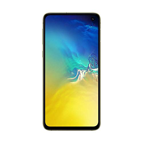 "Samsung Galaxy S10e Smartphone, Display 5.8"", 128 GB Espandibili, Dual SIM, Yellow [Versione Italiana]"