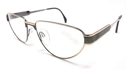 Schwarzkopf Silhouette Augenmuschel M 6135/80 V 6035 Gold und Grau VINTAGE