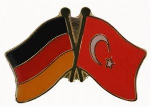 Yantec Freundschaftspin Deutschland-Türkei Pin Flagge