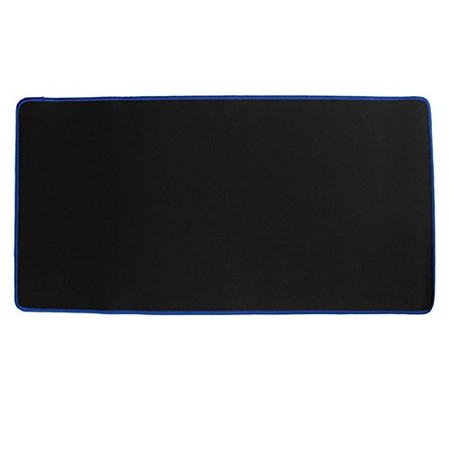 Demiawaking Großes Gaming-Mausunterlage Mauspad 60 * 30CM Computer-Gummi Pro Tastatur-Matte (Blau)