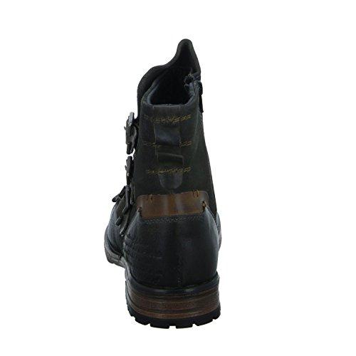 BOXX Z03-Z03-12 Herren Schlupf/Reißverschlussstiefelette Kaltfutter Grau (D.Grey/Brown)