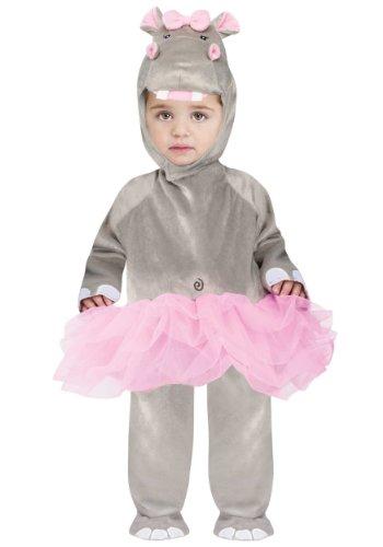 Adult Kostüm Hippo - Toddler Hippo Ballerina Costume Fancy Dress