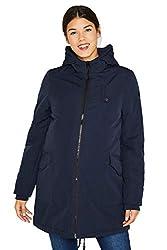 ESPRIT Maternity Damen Jacket Umstandsjacke Winterkacke Parker Jacke (Night Blue (486), 40)