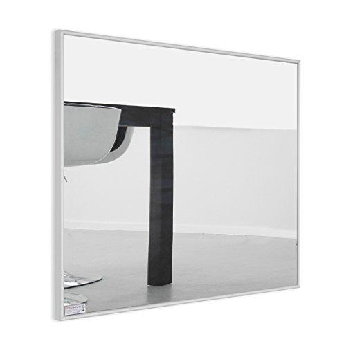 Infrarotheizung Spiegel mit Aluminium - Rahmen, 10mm / 210 Watt