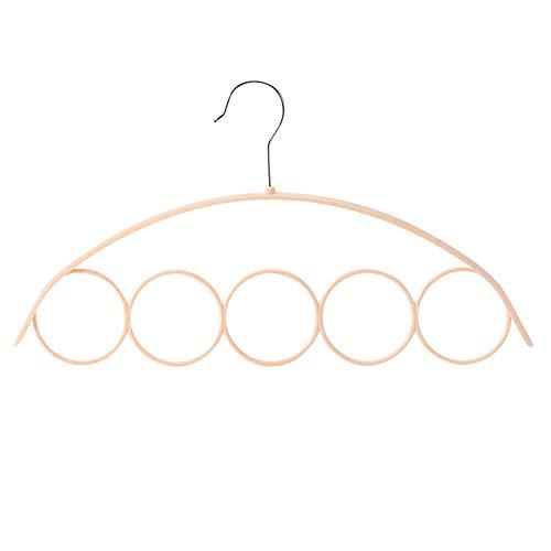 ALIKEEY tools Schal Schal Kleiderbügel Krawatte 5 Ring Rack Organizer Halter Haken Display Kleiderbügel Schal-display
