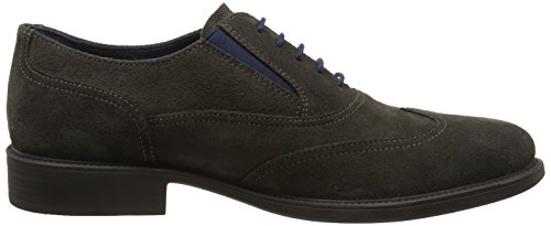 Geox Uomo Carnaby H, Oxfords Homme Marron (Mud)