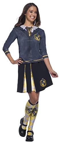 Rubie's 39027NS Hufflepuff Kostüm für Mädchen, - Matching Pair Mädchen Kostüm