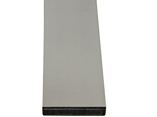 HaWe Alu-Richtlatten 2-Kammer-Rechteckprofil | ohne Handgriffe | Profil 100x18mm