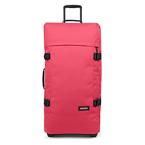 Eastpak Tranverz L Equipaje de mano, 79 cm, 121 liters, Rosa (Wild Pink)