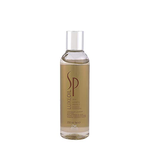 Wella System Professional - Shampoo Luxe Oil Keratine Protect - Linea Sp Luxe Oil Collection - 200ml