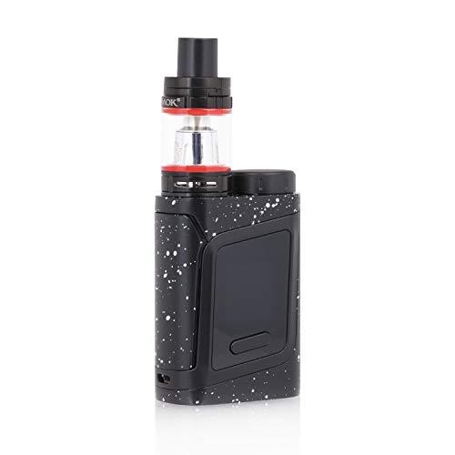 SMOK AL85 TC Kit Iniziale di Sigarette Elettronica Alien Baby (Nero/Spray bianco) SMOK RHA 85 Kit