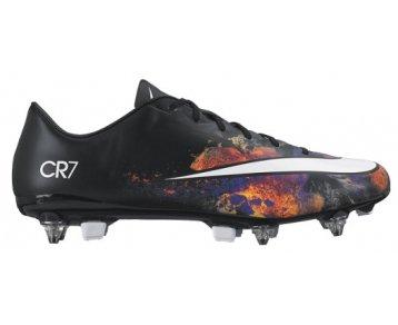Nike Herren Mercurial Veloce II CR SG-Pro Fußballschuhe, Schwarz / Weiß / Orange (Schwarz / Weiß-Gesamt Hochrot), 42