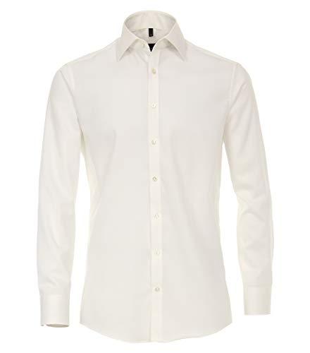 Venti Herren Businesshemd Hemd, Beige (Champagner 002), 41