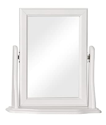 Furniture To Go Copenhagen Dressing Table Mirror, 47 x 49 x 14 cm, White