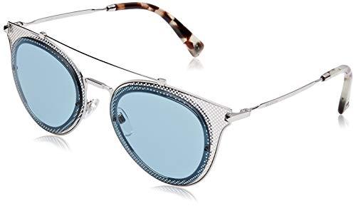 Valentino Damen 0VA2019 300680 53 Sonnenbrille, Silber (Silver/Azure)