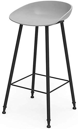 Lzf bar chair conical cone struttura antiscivolo a quattro punti solid piatto d'acciaio ad alta moderna battuto antiscivolo mats cuscini vuoti forza uniforme (color : gray, size : 45cm)