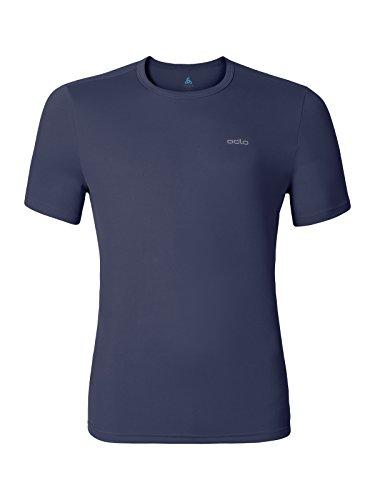 Odlo Herren S/S Crew Neck Cardada T-Shirt Peacoat