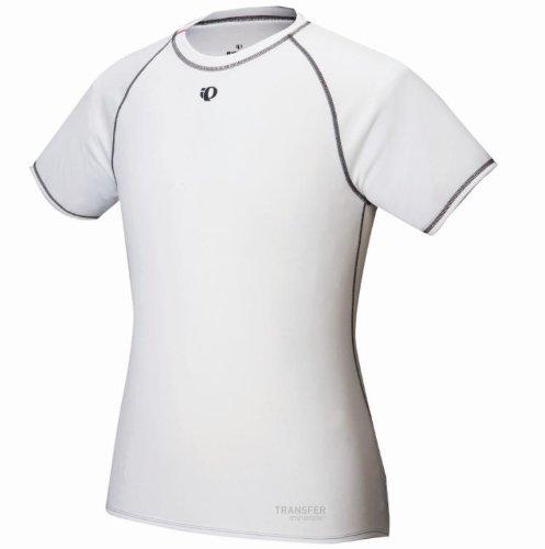 Pearl Izumi Herren Kurzärmliges Unterhemd Transfer Baselayer White