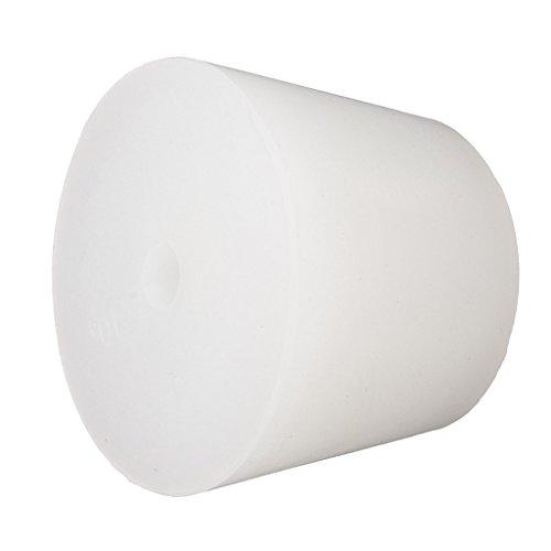 MagiDeal 1 Pieza de Tapon de Goma para Botella de Caucho Elegante para Amplia Gama de Bebidas de 8mm - Blanco, 11