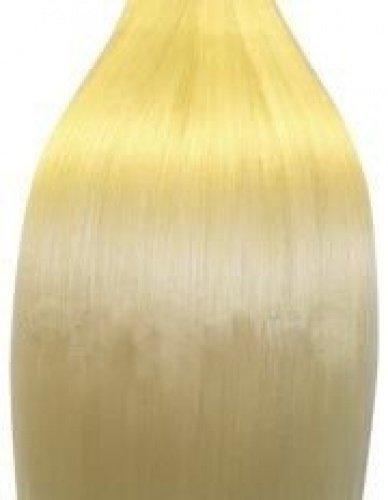 Extensions für komplette Haarverlängerung zum Einnähen oder Kleben - hochwertiges Remy-Haar - 100 g - 50 cm - Hellblond - 60