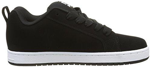 DC Shoes Herren Court Graffik Low-Top Schwarz (Black - 001)