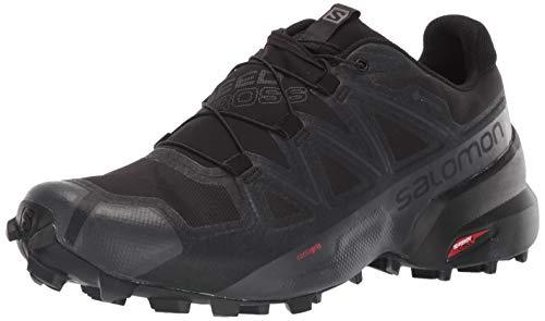 SALOMON Shoes Speedcross, Zapatillas de Running para Hombre, Negro Black/Black/Phantom, 49 1/3 EU