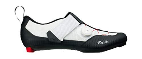 fizik Transiro Infinito R3 Triathlonschuhe schwarz/weiß Schuhgröße EU 45 2019 Rad-Schuhe Radsport-Schuhe