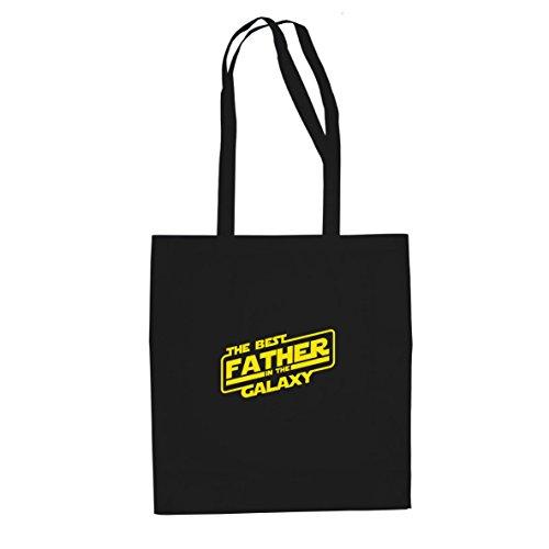 SW: Best Father - Stofftasche / Beutel, Farbe: schwarz