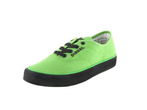 Diesel - Baskets à Lacet Femmes Vert / noir