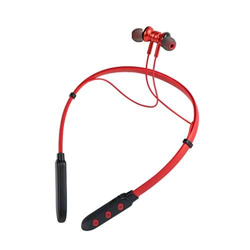 Kette Hals Halfter (ALIKEEY Kabellose Kopfhörer Mode kleine Halfter Bluetooth Sport Metall Ohr Shell Ohrhörer für iPhone, iPad, Samsung, Huawei, xiaomi und mehr)