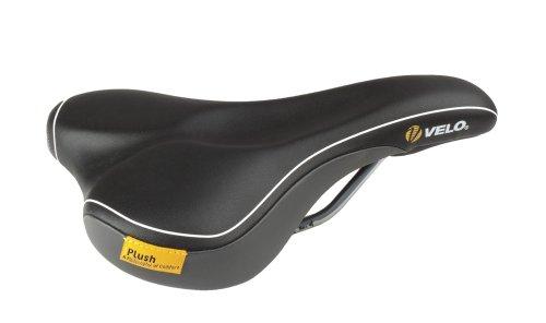 Velo Damen Fahrradsattel Plush Propotion D2, black, 246x161 mm