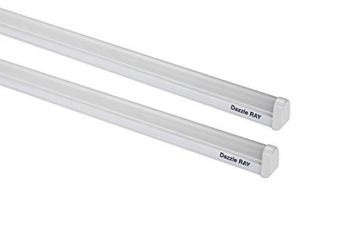 Crompton LDDR20-CDL Dazzle Ray 20-Watt LED Batten (Pack of 2, Cool Day Light)