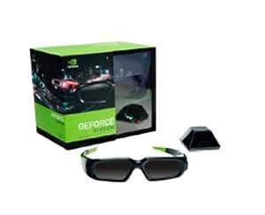 NVIDIA GeForce 3D Vision Lunettes sans fil pour PC Emetteur IR USB