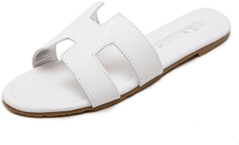 JITIAN - Zapatillas de Estar por Casa de Sintético Mujer
