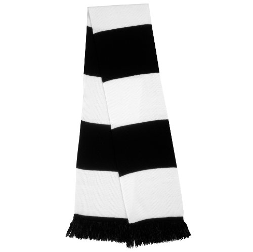 Ergebnis R146X Supporters schal Einheitsgröße schwarz/weiß
