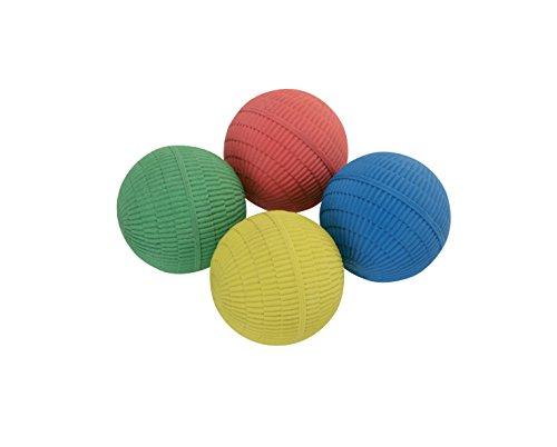 HUDORA Kinderspass Jonglierbälle, 4 Stück, Mehrfarbig, 75054