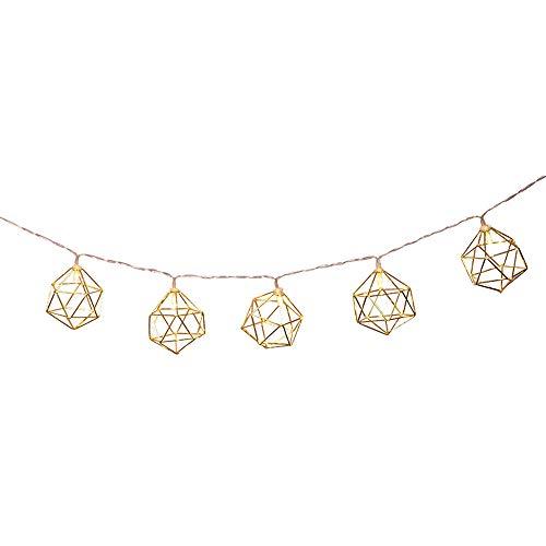 Preisvergleich Produktbild SUCES LED Rose Gold Dekorative Lichterkette Warm Ordentlich Warmes Gelb Laterne Weihnachtsbeleuchtung Gartendekoration Lounge Bar Lichter