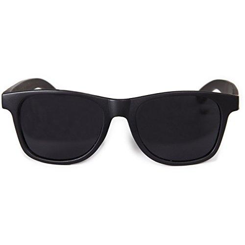 Epoxy Sonnenbrille Logo Wood - black/ebony , Größe:ONESIZE
