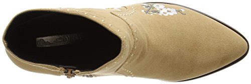 Miss Selfridge - Embroidered, Stivali Chelsea Donna Multicolour (Multi)