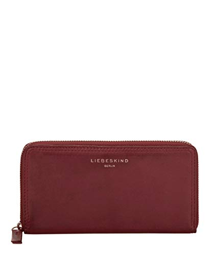 Liebeskind Berlin Damen Ever-Gigi Wallet Medium Geldbörse, Rot (Red Wine), 2x10x19 cm